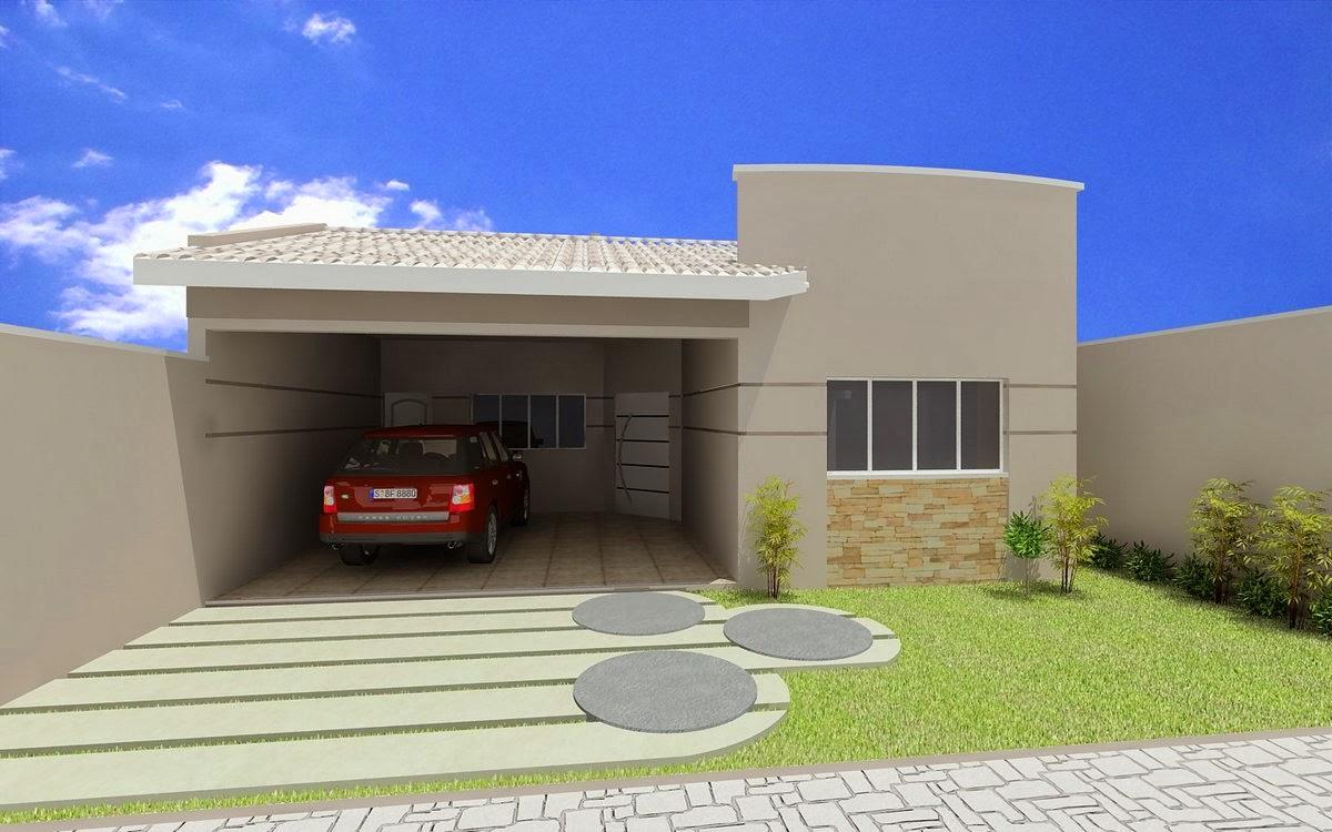 Fachadas para Casas pequenas e simples