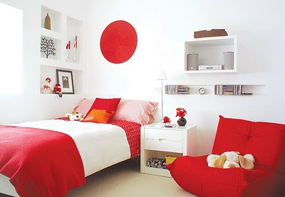 Fotos de quartos femininos decorados