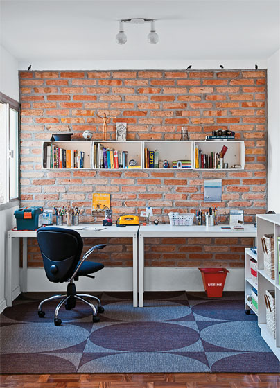Home office decorado