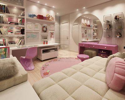 Quarto de luxo para meninas