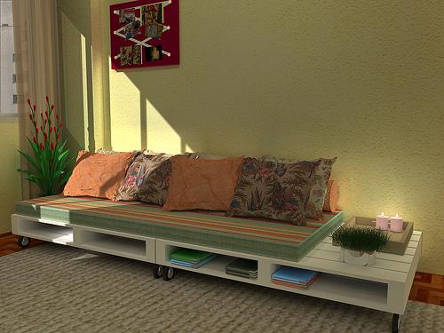 fazer um Sofá de Pallets