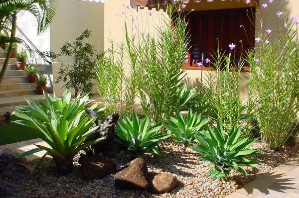 Jardins Residenciais pequenos e simples