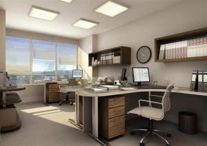 Modelos de escritórios de contabilidade decorados