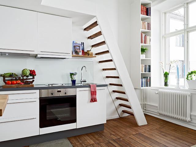 decoração de cozinha de kitnet