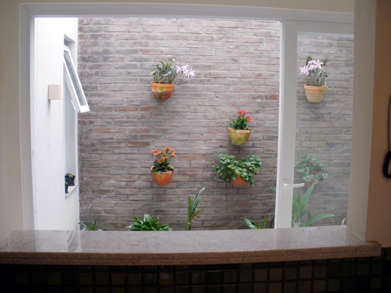 jardim de inverno na sala