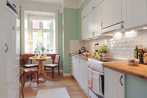 kitnet cozinha decorada