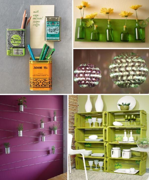 reciclagem na decoração