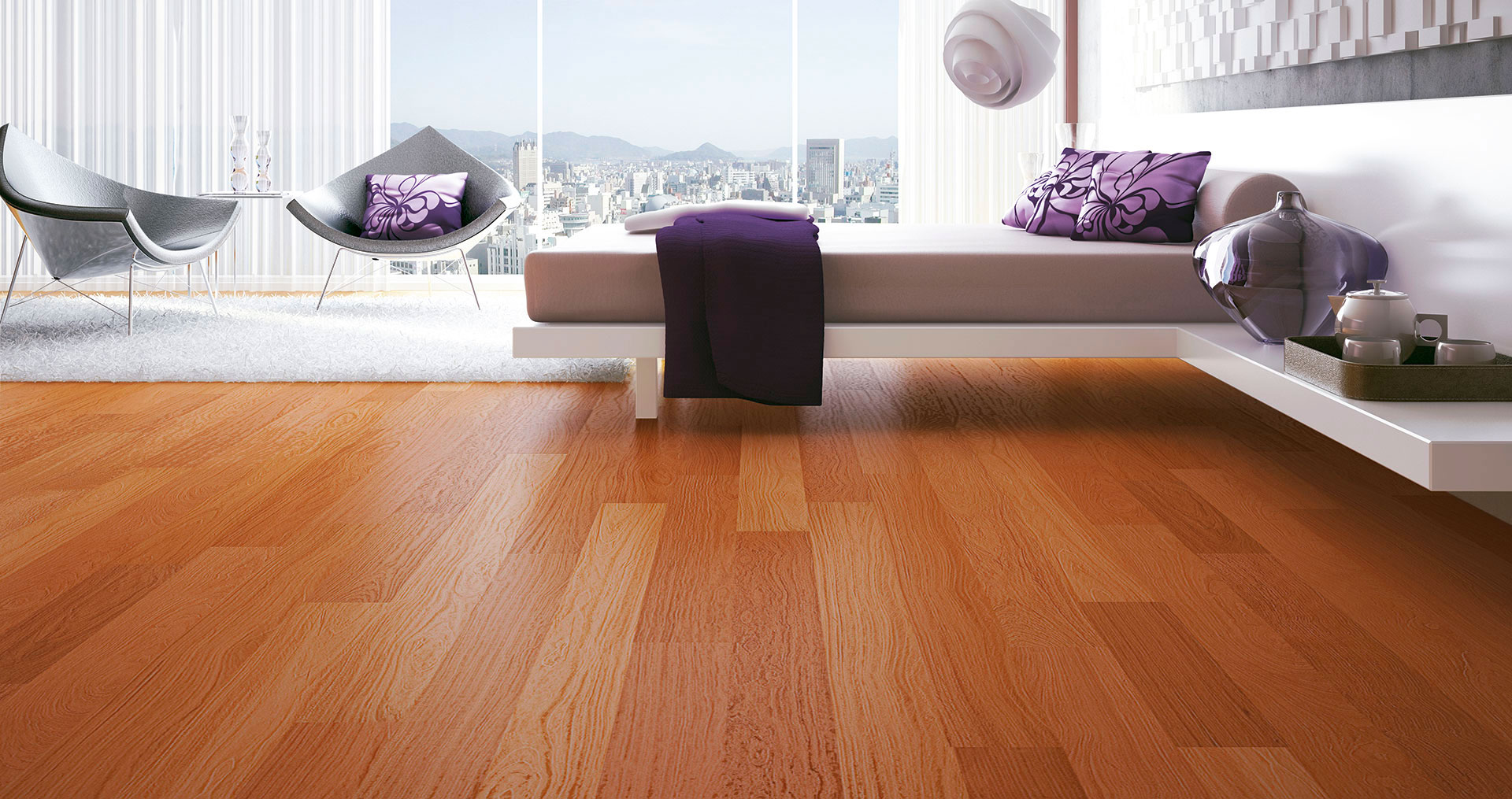 casas-decoradas-com-piso-de-madeira