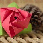 Como fazer Flor de origami para decoração