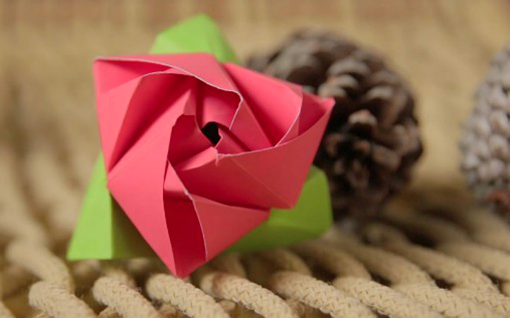 flor-de-origami