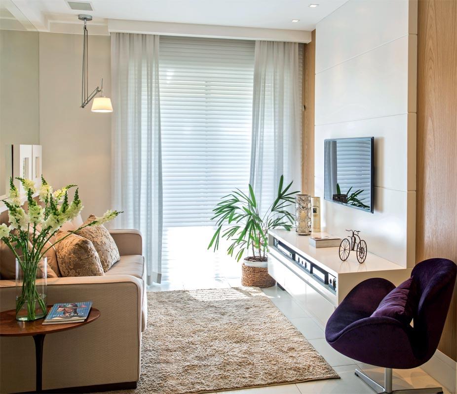 Sugestões para decorar ambientes pequenos