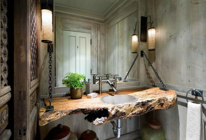 como-decorar-banheiros-rusticos