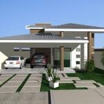 9 Belíssimas Fachadas de casas com telhado