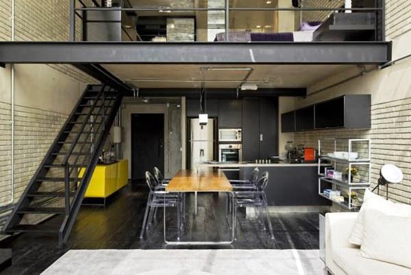 Lofts Decorados e modernos decorados