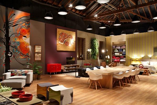 fotos Modelos de Lofts Decorados e modernos