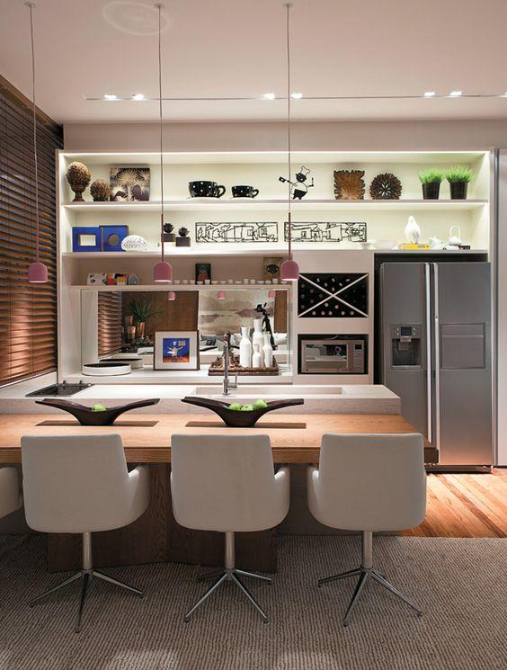 Cozinha gourmet moderna