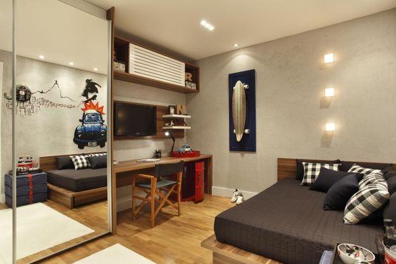 decoracao-de-quarto-masculino-com-adesivo-de-parede