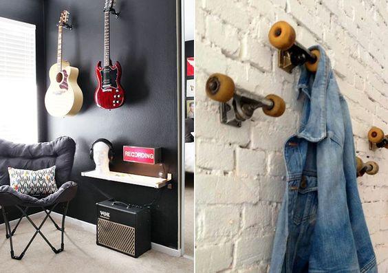 decoracao-de-quarto-masculino-criativo-skate