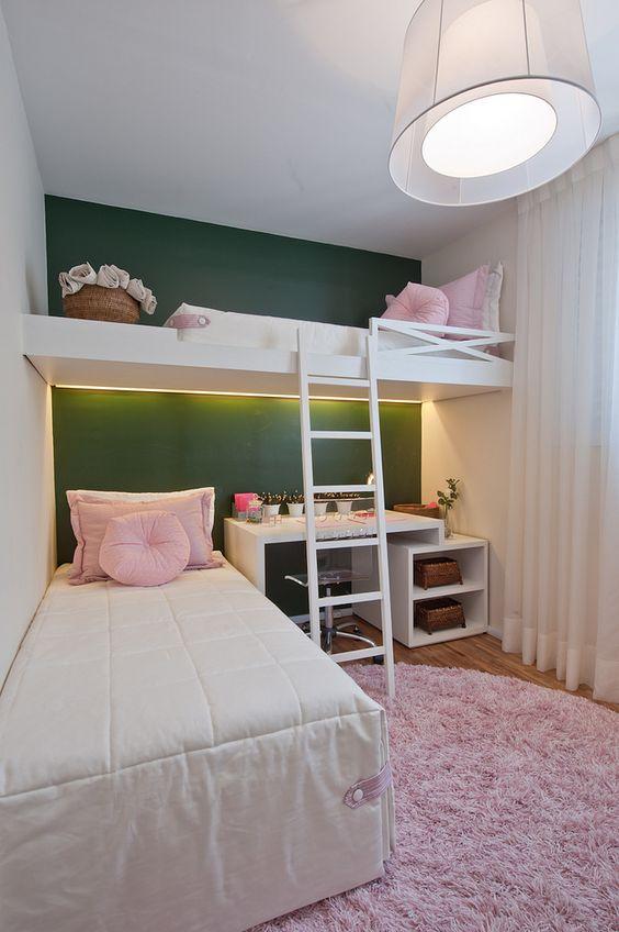 quartos-femininos-com-beliche