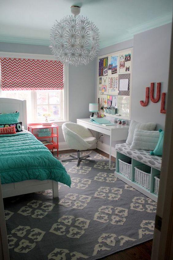 quartos-femininos-verdes