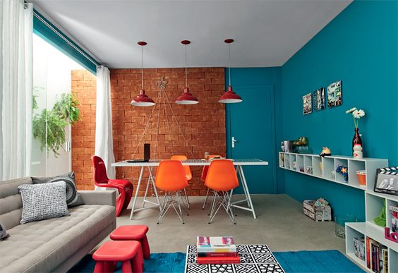 salas-de-estar-colorida