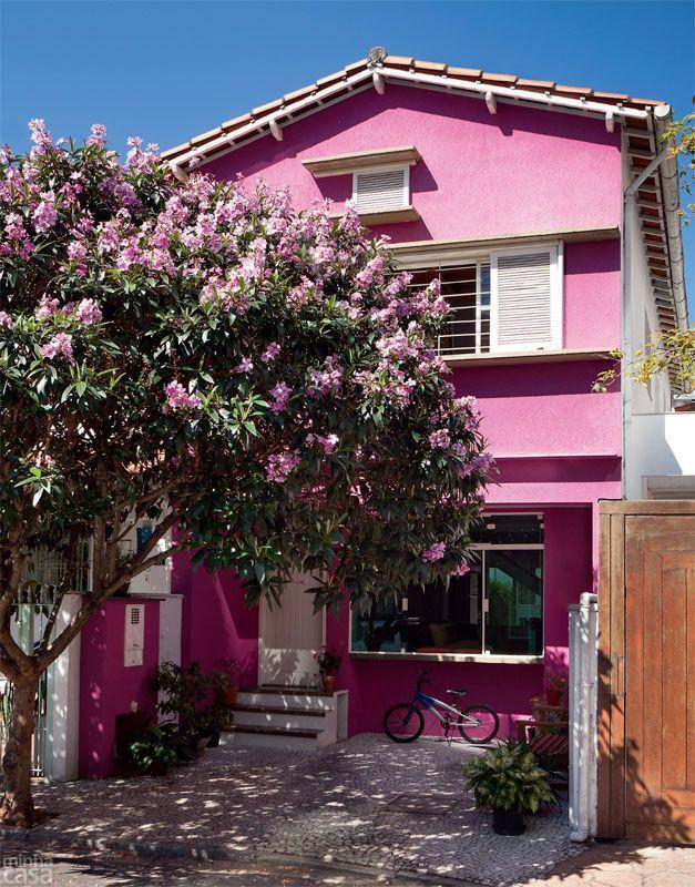 casas colorida alegres