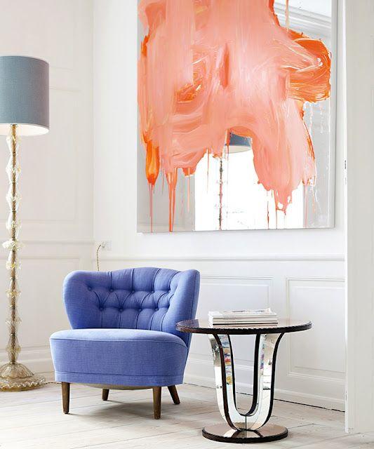 decoracao-de-salas-de-estar-com-quadros-coloridos
