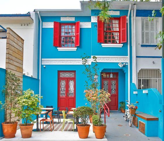 fotos de Casas coloridas