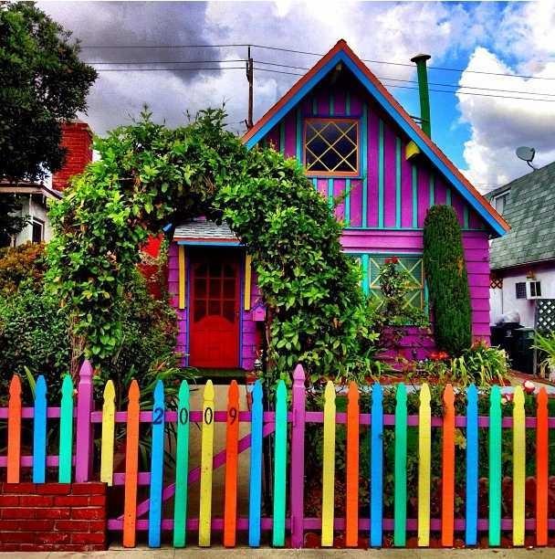 Modelos de Casas coloridas lindas