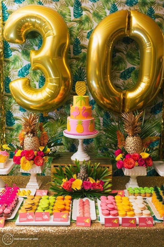 Como fazer Decoração de Festa Havaiana