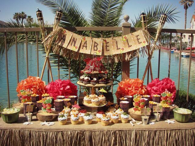 Decoração de Festa Havaiana como organizar