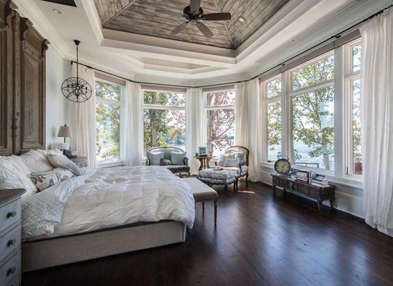 dicas de cortinas para quarto de casal
