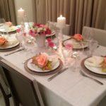 Decoração de Mesas de Jantar – 50 Modelos lindos e criativos