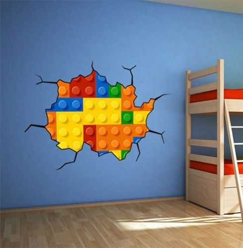 Paredes decoradas para quartos de meninos