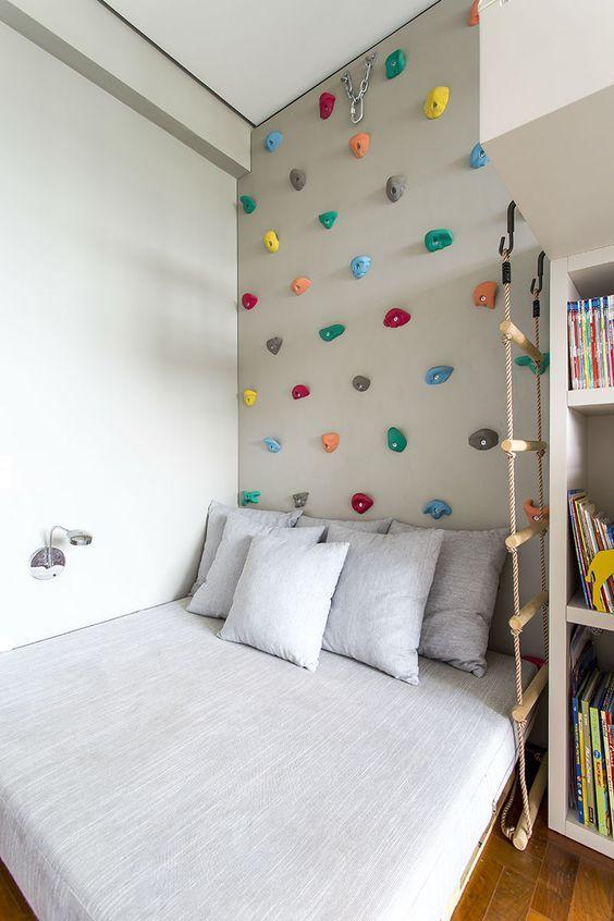 quartos para meninos com Rapel