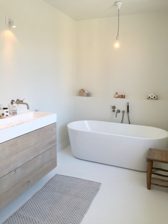 Decoração de banheiros com banheira
