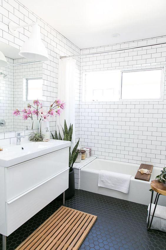 Tendências de banheiros com banheiras