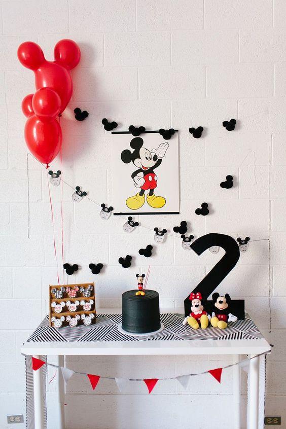 aniversário simples decoração