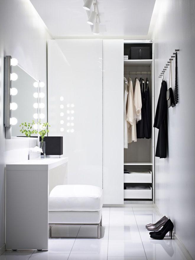 closet pequeno clean