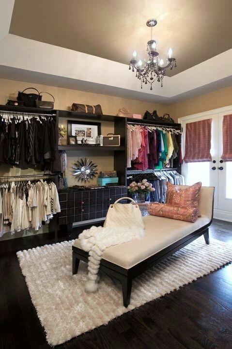 closet pequeno rústico