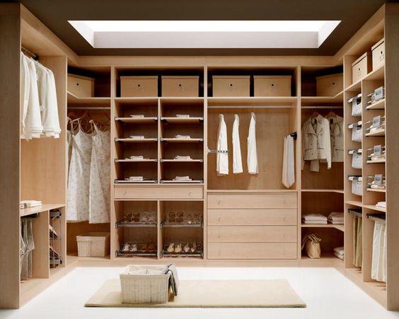 closets pequenos modernos