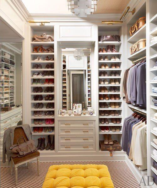 como decorar closets pequeno