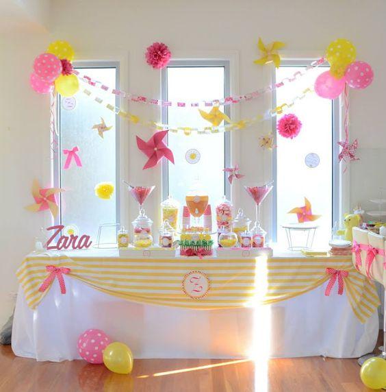 como fazer decoração de aniversario barato bonito