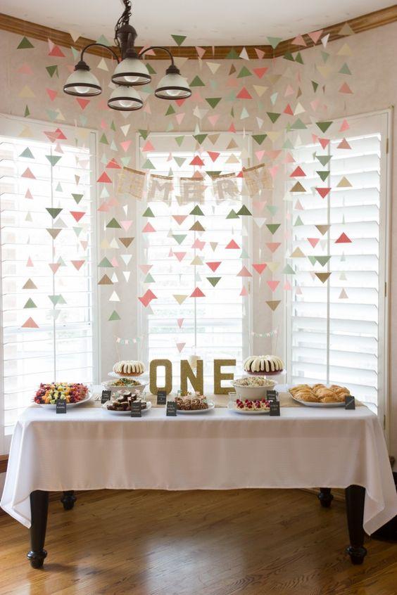 Fotos de Decoração de aniversário simples