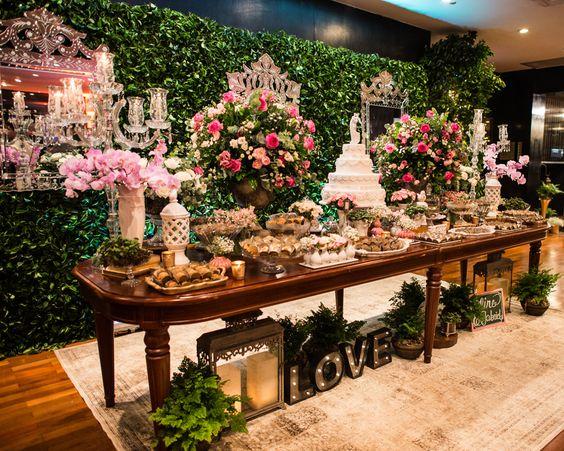 Foto de Mesas de Bolo de Casamento