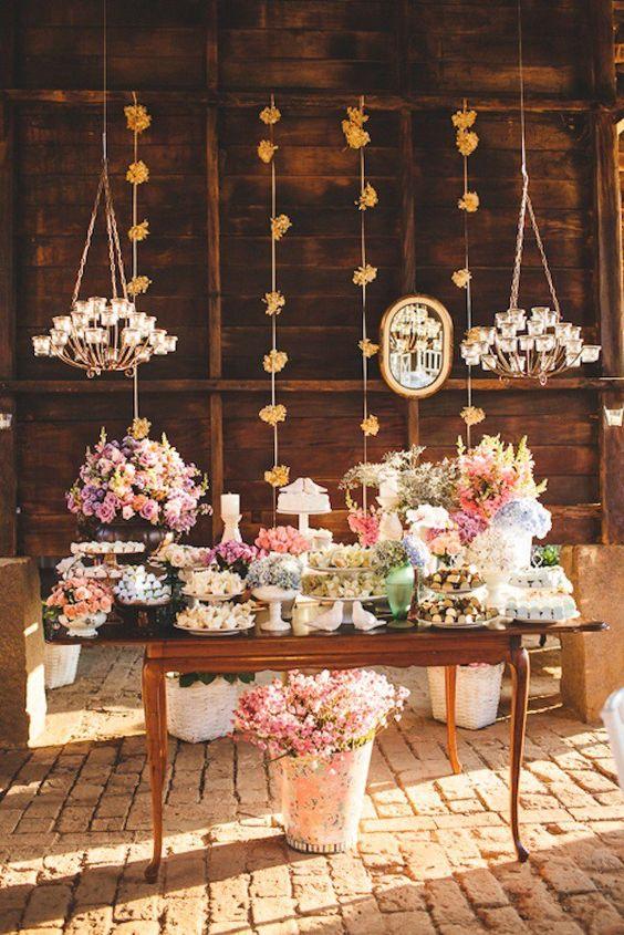 Mesas para Bolos de Casamentos