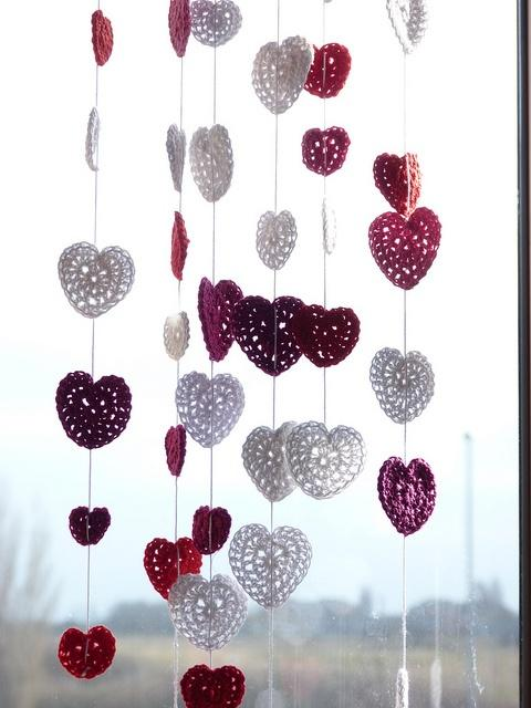 Fotos de cortinas de crochê
