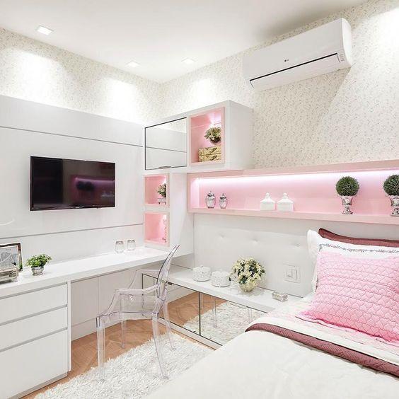 modelo de quarto de princesa