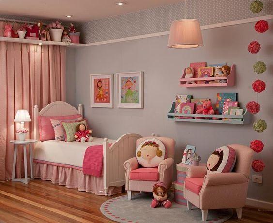 quartos de princesas decorados
