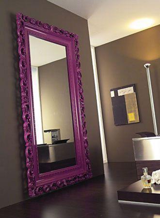 Espelho veneziano colorido